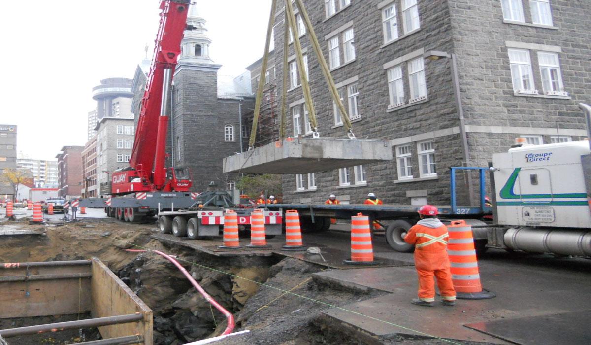 Québec : Chambre électrique