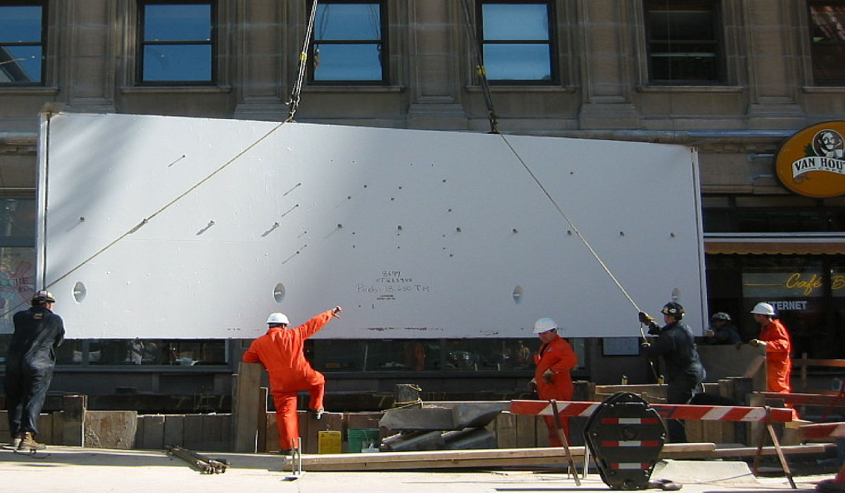 Montréal : Chambre électrique